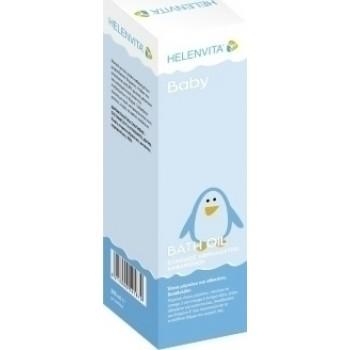 Helenvita Baby Bath Oil Cleanser Ελαιώδες Αφρόλουτρο Καθαρισμού 200ml