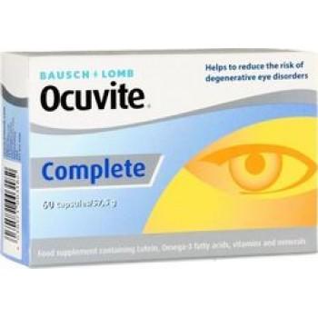 Bausch + Lomb Ocuvite Complete 60caps, Συμπλήρωμα Διατροφής για την καλή υγεία και την προστασία των ματιών