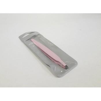 Επαγγελματικό Ανοξείδωτο Τσιμπιδάκι Φρυδιών Σε Ροζ Χρώμα 8cm - OEM 50998
