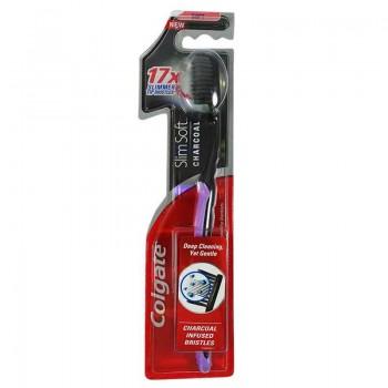Colgate Slim Soft Ultra Charcoal Οδοντόβουρτσα