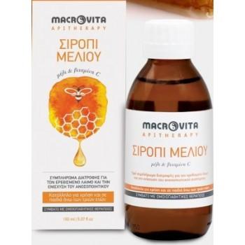 Macrovita Σιρόπι Μελιού Με Μέλι & Βιταμίνη C 150ml