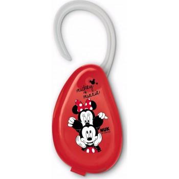 Nuk Θήκη Πιπίλας Disney Mickey Κόκκινο