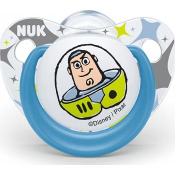 Nuk Toy Story Σιλικόνης Μπλε 6-18m 1τμχ