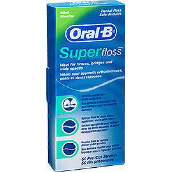 Oral-B Super Floss 50τμχ