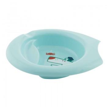 Chicco Plate Easy Feeding Εκπαιδευτικό Πιάτο Γαλάζιο 6m+