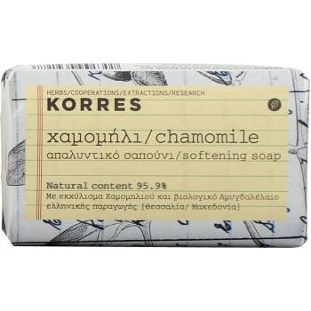 Korres Σαπούνι Χαμομήλι Για Ευαίσθητες Επιδερμίδες 125gr