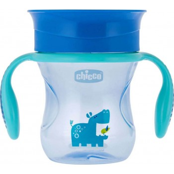 Chicco Perfect Cup 12m+ Μπλε 200ml
