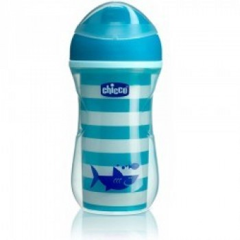 Chicco Active Cup 14m+ Μπλε 266ml