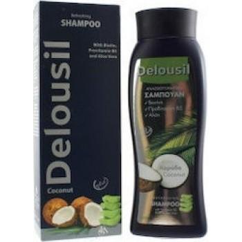 SJa Pharm Delousil Refreshing Shampoo Αναζωογονητικό Σαμπουάν με άρωμα Καρύδας 400ml