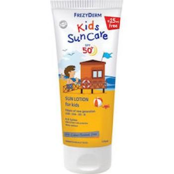 Frezyderm Kids Suncare SPF50 Παιδικό Αντηλιακό Γαλάκτωμα για Πρόσωπο & Σώμα 175ml