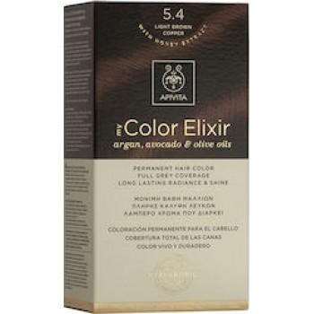 Apivita My Color Elixir 5.4 Καστανό Ανοιχτό Χάλκινο