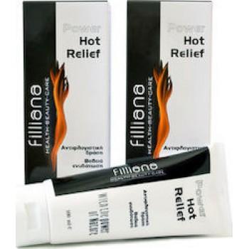 Filliana Power Hot Relief, Αντιφλογιστική Δράση, Βαθιά Ενυδάτωση, 100ml