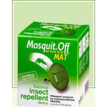 Mosquit. Off Mat – Ηλεκτρική Συσκευή για Εντομοαπωθητικά Πλακίδια 1 τμχ