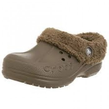 Crocs - blitzen kids chocolate/chocolate