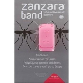 Vican Zanzara Band Εντομοαπωθητικό Βραχιόλι (S/M) Pink