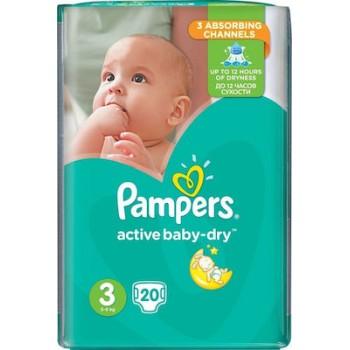 Πάνες Pampers® Active Baby-Dry No 3 (5-9 kg) 20 τεμάχια
