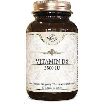 Sky Premium Life Vitamin D3 2500iu 60 ταμπλέτες