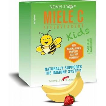 Novelty Miele C Kids 20 αναβράζοντα δισκία