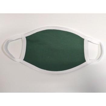 Μάσκα Προστασίας Προσώπου Υφασμάτινη Πλενόμενη Πολλαπλών Χρήσεων Πράσινη 1τμχ