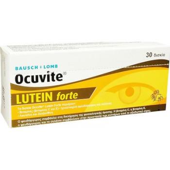 Bausch & Lomb Ocuvite Lutein Forte 30 ταμπλέτες