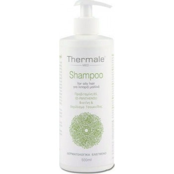 Thermale Med Shampoo for Oily Hair 500ml Σαμπουάν για Λιπαρά Μαλλιά 500ml