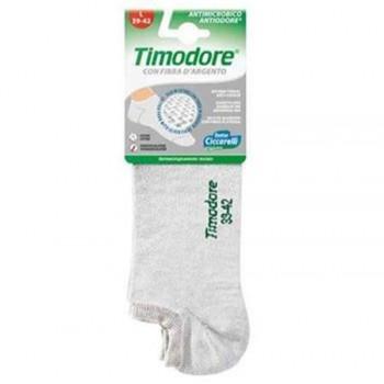 Timodore Αποσμητικές Κάλτσες Ποδιών Με Αντιβακτηριδιακή Δράση Γκρί Χρώμα (35-38)