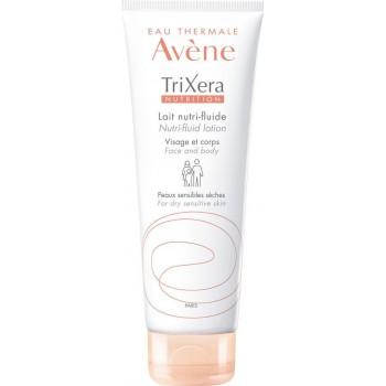 Avene Trixera Nutrition Lait Nutri-Fluide 200ml - Λεπτόρρευστο Θρεπτικό Γαλάκτωμα Για Πρόσωπο & Σώμα