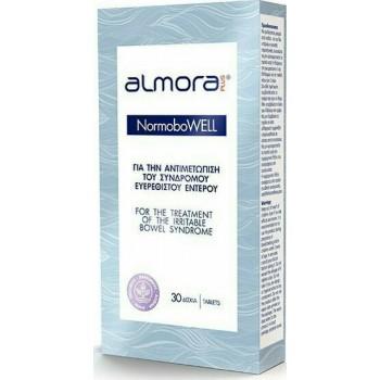 Almora Plus - NormoboWell Αντιμετώπιση Συμπτωμάτων Ευερέθιστου Εντέρου 30tabs