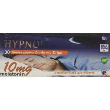 Medichrom Bio Hypnol Melatonin 10mg 30 Διασπειρώμενα Δισκία