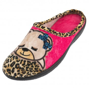 Save your feet Γυναικεία ανατομική παντόφλα 3017 Fuchsia