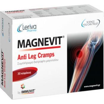Leriva Magnevit Anti Leg Cramps 30 Caps για τις Κράμπες