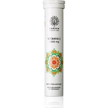 Garden Vitamin C 1000mg 20 αναβράζοντα δισκία Πορτοκάλι-Μανταρίνι
