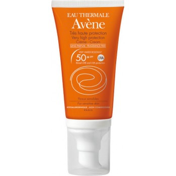 Avene Fragrance Free For Dry Sensitive Skin SPF50+ 50ml