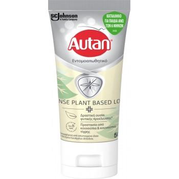 Autan Defence Plant Based Lotion Εντομοαπωθητικό Κατάλληλο για Παιδιά Άνω των 6 Μηνών 50ml