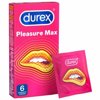 Durex Pleasuremax Διεγερτικά Προφυλακτικά Για Μεγαλύτερη Απόλαυση 6τμχ