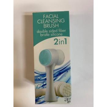 Ag Pharm Kαθαριστικό Βουρτσάκι προσώπου διπλής κεφαλής Γαλάζιο 1τμχ