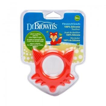 Dr. Brown's Κρίκος οδοντοφυΐας Αλεπού 3m+ 1τμχ