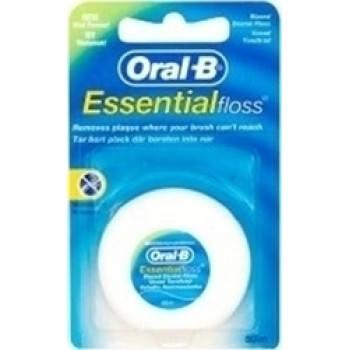 Oral-B Essential Floss Κηρωμένο 50m