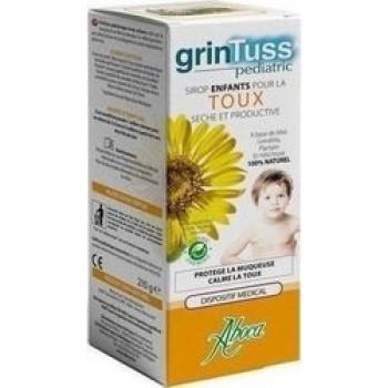 Aboca Grintuss Pediatric  Σιρόπι παιδικό για το βήχα 180ml