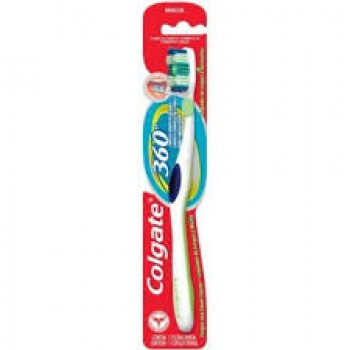 Colgate 360 Whole Mouth Clean Medium Πράσινη