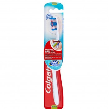 Colgate 360 Whole Mouth Clean, Οδοντόβουρτσα Medium Κόκκινη