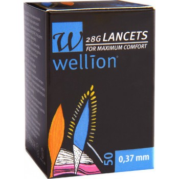 Wellion Lancets 28G 50τμχ