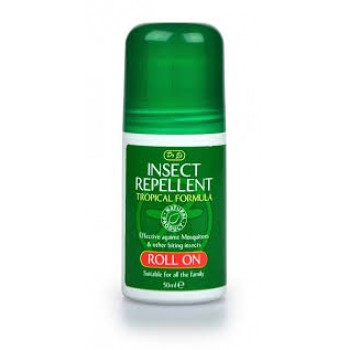 Insect Repellent Tropical Formula Roll On 50ml