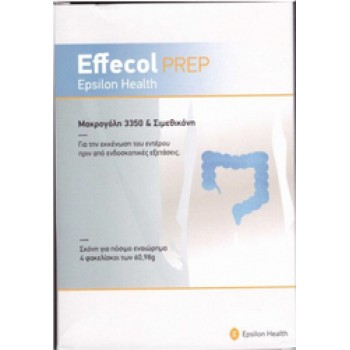 Epsilon Health Effecol Prep 3350 4 φακελίσκοι