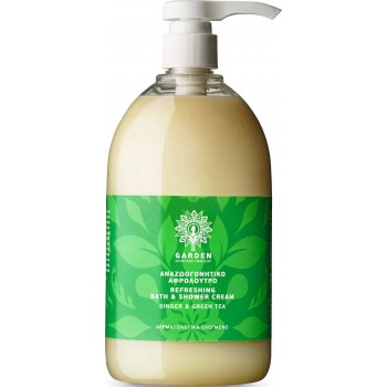 Garden Refreshing Bath & Shower Cream Ginger & Green Tea 1000ml