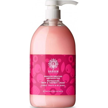 Garden Refreshing & Bath Shower Cream Forest Fruits & Bilberry 1000ml