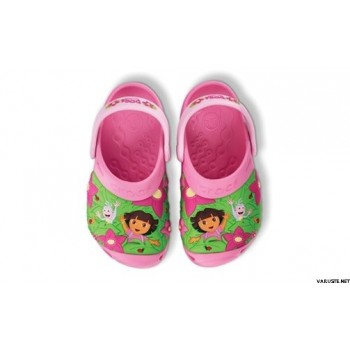 Crocs dora boots jungle custom clog pink lemonade/bubblegum