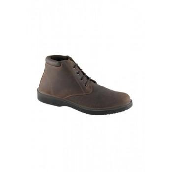 Level Ανδρικό Ανατομικό παπούτσι καφέ  514