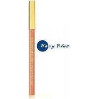 COVERDERM PERFECT EYELINER No3 Navy Blue (1,5 gr) ΜΠΛΕ ΜΑΛΑΚΟ, ΥΨΗΛΗΣ ΑΚΡΙΒΕΙΑΣ ΚΑΙ ΜΑΚΡΑΣ ΔΙΑΡΚΕΙΑΣ, ΥΠΟΑΛΛΕΡΓΙΚΟ ΜΟΛΥΒΙ