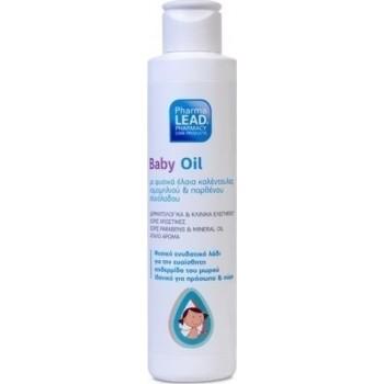 PharmaLead Baby Oil με φυσικά έλαια καλέντουλας, χαμομηλιού και παρθένου ελαιόλαδου 150ml